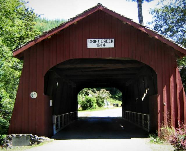 Drift Creek Bridge